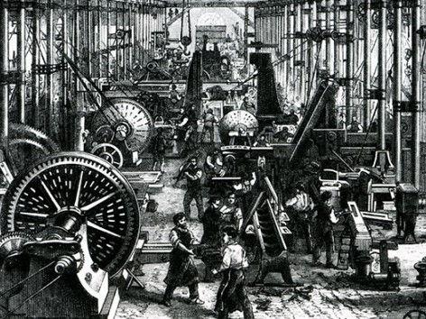 l'industrialisation et le début du parfum par cher