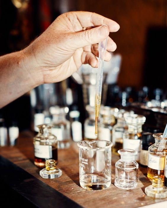 Dilution du concentré parfum
