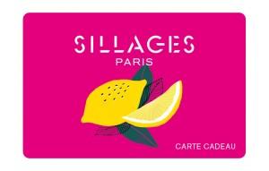 La Carte Cadeau Sillages Paris